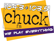 104.3 Chuck-FM 103.5 WCHK-FM Green Bay Appleton