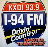 Drivin' Country 93.9 KXDI I94 I-94 Wild Bill