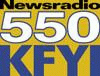 Newsradio News Radio 550 KFYI Barry Sharpe Laurie Cantillo