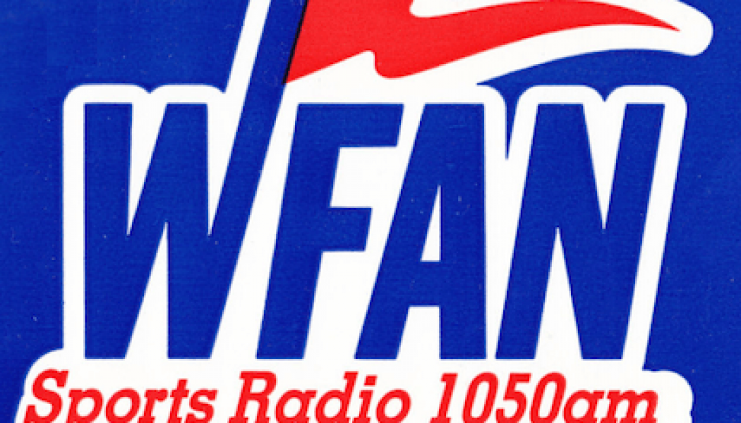 Sportsradio 1050 66 WFAN New York Jim Lampley Suzyn Waldman 25th Anniversary Francesa Russo Imus Carton