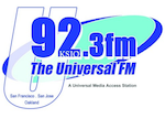 U92.3 Universal FM KSJO San Jose China SALT Save Alternative