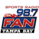98.7 The Fan WHFS-FM Holmes Beach Tampa St. Petersburg Bubba Love Sponge Christmas Music